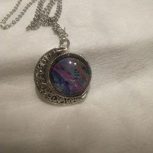 Jewelry - Moon Pendant necklace.